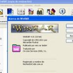 Limitaciones de WinRAR